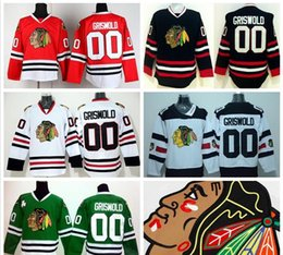 Hot Sale 00 Clark Griswold Chicago Blackhawks Hockey Jerseys Ice Throwback  Winter Classic Stadium Series Skull Red Black Ice White Green 5abba5cb5