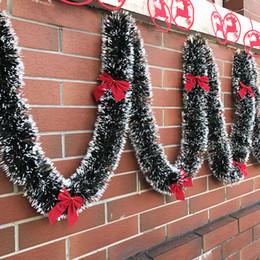 $enCountryForm.capitalKeyWord NZ - 2M Christmas Decoration Bar Tops Ribbon Garland Christmas Tree Ornaments White Dark Green Cane Tinsel Party Supplies