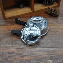 Nuevo Aluminio hookah shisha head carbón titular de calor para narguile shisha carbón estufa de silicona accesorios del tazón en venta