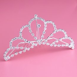 $enCountryForm.capitalKeyWord Canada - 2018 Fashion European Styles Silver Hair Jewelry Pearl Crystal Tiaras And Crowns For Bride Wedding Women Handmade Hair Accessories Hot Sales