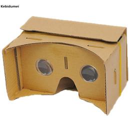 "$enCountryForm.capitalKeyWord NZ - Kebidumei DIY Google Cardboard 3D VR Box Reality Glasses VR Mobile Phone 3D for 5.0"" Screen Google Movies Games"