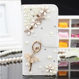 bling iphone flip cases Australia - For iPhone 8 Plus iPhone X Bling Csae Caver Case Crystal Leather Flip 3D Rhinestone Diamond Stand Wallet Case