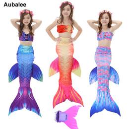 Kids Mermaid Swimming Costume Australia New Featured Kids Mermaid