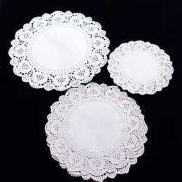 Hot 1 Set\36 Pcs (Include 3 size) Round Lace Paper Doilies Craft Cup Cake Wedding Party Decoration 2018 Disposable Plates paper doilies craft outlet  sc 1 st  DHgate.com & Discount Paper Doilies Craft | Paper Doilies Craft 2018 on Sale at ...