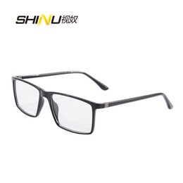 eyes glasses frames for men NZ - New Brand Eye glasses frames for women Retro Big Square Glasses Frame men Optical Frame Fashion Clear Glass 9195