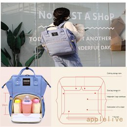 Plain Diapers NZ - Mummy Maternity Nappy Diaper Bag Large Changing Mom Bag Baby Travel Backpack Backpacks
