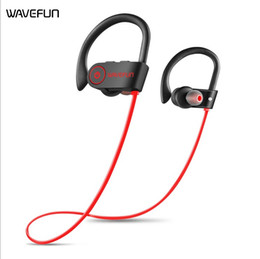 New Arrival Wavefun bluetooth headphones IPX7 waterproof wireless headphone sports bass bluetooth earphone with mic for phone iPhone xiaomi