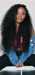 Afro Kinky Hair Shipping Australia - New arrving afro kinky culry Human Hair Wigs Kinky Curly fashion wigs free shipping in stock