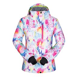 skate clothes women NZ - High Quality Ski Jackets Women Windproof Waterproof Warmth Snowboard Coat Snow Skiing Winter Sportswear Camping Clothing