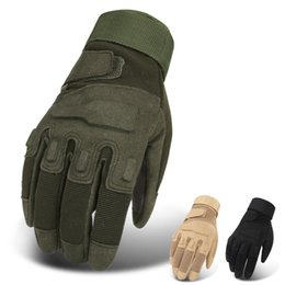 Discount army gloves - Tactical Gloves SWAT Finger Gloves Men Army Outdoor Shooting Climbing Combat Paintball Half Full