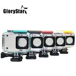 $enCountryForm.capitalKeyWord Australia - GloryStar 40M Diving Waterproof Case for Xiaomi Yi 4K Lite Xiaoyi 2 Action Camera Protective Housing Case For Yi 4K Accessories