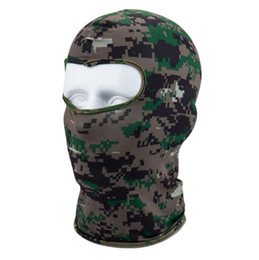 Ski maSk purple online shopping - outdoor Sport Ski Mask Bicycle Cycling Mask Caps Motorcycle Barakra Hat CS windproof dust head sets Camouflage Tactical hood