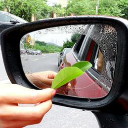 2pcs Auto Rearview Specchietto Protezione Pellicola Protezione Anti Nebbia Finestra trasparente Vista posteriore a pressione Pieve Protezione Pellicola Protezione Auto Soft Film Accessori Auto con vendita al dettaglio in Offerta