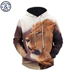 77335258d155 3D Animal Sudadera Lion Panda Wolf Sudadera Con Capucha Para Hombre  Impresión 3D Sudaderas Con Capucha Adolescente Streetwear Novedad Abrigo  Sudadera Hombre