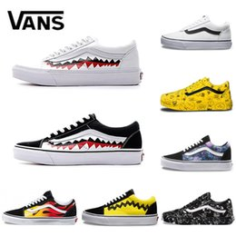 d0330fabecc Peanuts old skool online shopping - Vans Old Skool Men women Casual shoes  Rock Flame Yacht