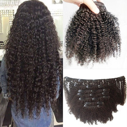 Afro Kinky Hair Shipping Australia - Hair Products Brazilian Mongolian Afro Kinky Curly Hair Extensions CAN BUY 100% Human Hair Weave Natural All Color Free Shipping