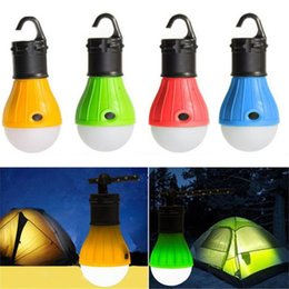 Discount emergency led flashlight lamp - Mini Portable Lantern Tent Light LED Bulb Emergency Lamp Waterproof Hanging Hook Flashlight For Camping Furniture Access