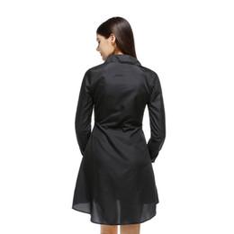 $enCountryForm.capitalKeyWord UK - Women Shirt Dress Lady Long Sleeve Polka Dot Printed Bodycon Party Dresses Cotton Blends Plus Size Vestido Casual Vintage