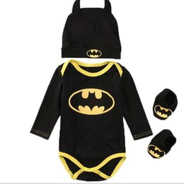 China Baby Boys Girls clothes Set Cool Newborn Infant Baby Boys Romper+Shoes+Hat 3 pcs lot Outfits Set Clothes cheap baby girl cool clothes suppliers