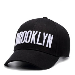8e89289abfc Brooklyn Baseball Hat UK - Brand new men brooklyn casquette hat hiphop  black adjustable brooklyn baseball