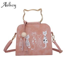 Aelicy Animal Messenger Bag Women Handbags Cat Rabbit Patter Pattern  Shoulder Crossbody Bag Luxury Handbags Women Bags Designer 440ad747c140e