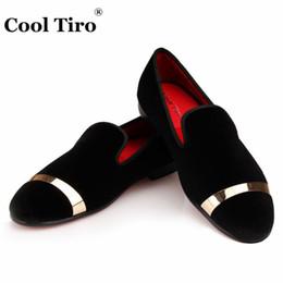 85146425c0c Handmade Velvet Loafers Men SmokingSlippers Wedding Velours Dress Shoes Man  Flats Slip-on Casual Shoes Gold Buckle
