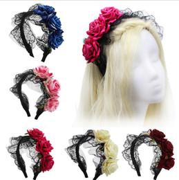 $enCountryForm.capitalKeyWord NZ - Artificial rose flower heads velvet rose flower for headband hair clasp