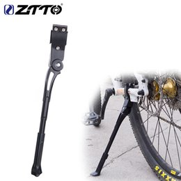 Lightweight Road Bicycles Australia - Bicycle Adjustable Kickstand 26 27.5 29 Road 700c Bike parking Kick Stand lightweight Mountain Bike Cycle Prop Side Rear rack
