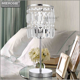 Iron Table Lamps For Living Room NZ - Crystal Table Light Modern Cristal Reading Lamp for Living room Crystal Desk Light Crystal bedside Light