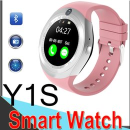 Discount real phones for kids - Y1S Smart Watch Phone SIM Card Watch With Real Camera Pulsometer Sport Activity Tracker Fitness Watches Smart watches fa