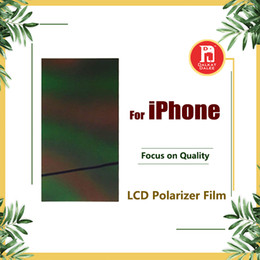 Wholesale apple refurbishment for sale - Group buy Back polarized film For iPhone s s c s p s plus PLUS Polarizer Light Refurbishment Repair Parts