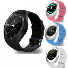 $enCountryForm.capitalKeyWord NZ - Y1 Smart Watch Round Sharp Support SIM with Whatsapp Facebook Business Smartwatch Push Message For IOS Android Phone With Retail Package