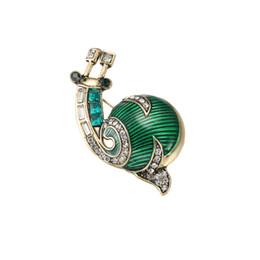 $enCountryForm.capitalKeyWord UK - New Fashion Elegance Snail Animal Cartoon Brooch Clothing Accessories Used by Women and Men YP3382