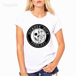 554464bd3 Discount dragon skull t shirts - Skull Dungeon and Dragons Fashion Summer  Women T-shirt
