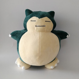 snorlax soft toy UK - New Snorlax Soft Toy Plush Doll Collection For Kids Holiday Best Gift 10.5inch 27cm