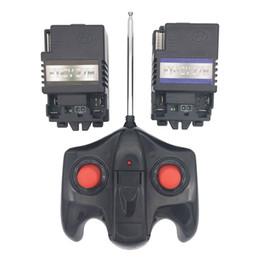 12v Car Antenna Australia - Children electric car 27mhz remote control and FY-27M-12V receiver, Kid's electric vehicle remote controller receiver -12V 6V