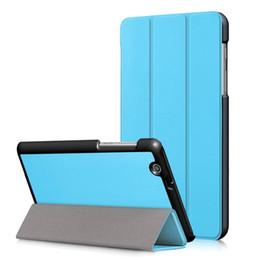 Huawei 3g Australia - New Flip PU Leather Cover Case For Huawei Mediapad T3 7 3G BG2-U01 Tablet case Slim Magnetic Folding cover+Stylus Pen+Film.