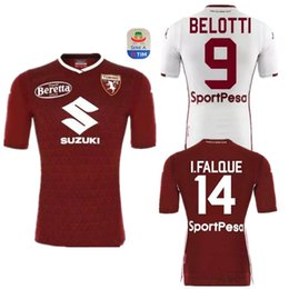 Ljajic Baselli Torino Camisetas Camiseta I fútbol Jersey del de 2019 de Turín Camisetas de 2018 Belotti Camisa Torino Falque Maillot fútbol FC de fútbol cvB7WfWOR