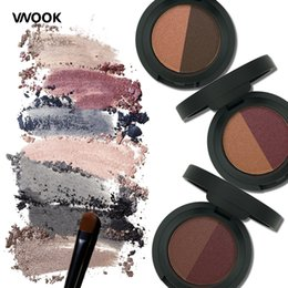 $enCountryForm.capitalKeyWord Australia - Vnook Brand Double Color Glitter Eye Shadow Waterproof Mineral Powder Long Lasting Makeup Eye Shadow Korean Make Up Products