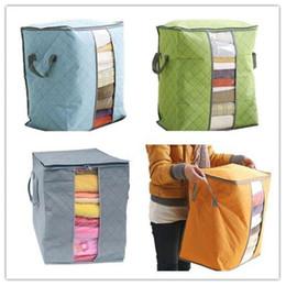 Storage Beds Australia - Urijk 48x50x28cm Bedding Storage Bag clothes Home Storage Foldable Bag Moisture-proof Pillows Quilt Organizer container