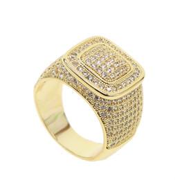 aba20d792fc6 2018 Nueva llegada de la venta caliente de oro de la manera Color Claro  Zirconia Cúbico Anillos de dedo para mujeres hombres Accesorios de la boda  anillos ...