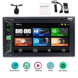 English Audio Music Australia - 6.2'' Car DVD Player NO GPS Stereo system in Dash Double 2 Din Car Radio Auto video Audio Bluetooth Music Enjoyment System