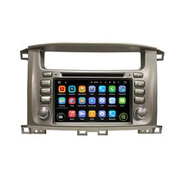 7inch screen phone Canada - Car DVD player for Toyota Lander Cruiser 100 7inch Octa core Andriod 8.0 with GPS,Steering Wheel Control,Bluetooth,Radio
