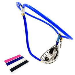 $enCountryForm.capitalKeyWord NZ - Chastity Belt Invisible Chastity Pants Male Chastity Device Hollow Penis Sleeve Ventilate Cock Cage Bondage Kits Sex Toys for Men G7-4-92A