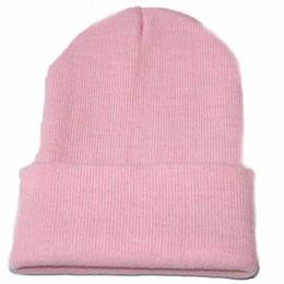 Discount beanies hombres - Unisex Slouchy Knitting Beanie Hip Hop Cap Warm Winter Ski hats & caps men winter hats for women bonnet femme gorras par