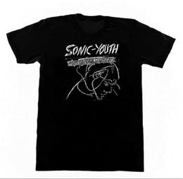 Ingrosso Sonic Youth - Confusion is Sex - Tshirt M153 Shirt Noisecore No Wave Uomo 2018 fashion Brand T Shirt O-Collo 100% cotone