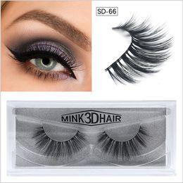 bae1fb2cb79 NEW Makeup Black False Eyelashes 3D Mink Eyelashes Mink False lashes Soft  Natural Thick Fake Eyelashes 3D Eye Lashes Extension Beauty Tools