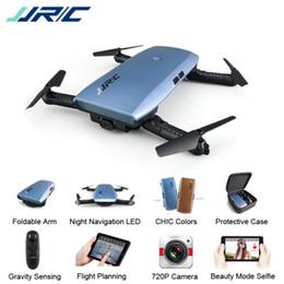Selfie Drones JJR / C JJRC H47 ELFIE Além disso com Câmera HD Atualizado Dobrável Braço RC Drone Quadcopter Helicóptero em Promoção