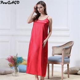 88ab788bc969c Home Dress For Summer Canada - Sexy Nightgowns Sleepshirts Women Summer Nightwear  Sleepwear Night Dress Long