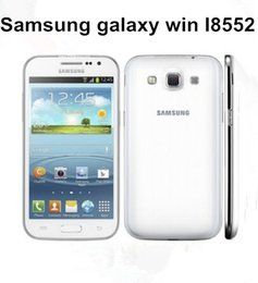 Wholesale android cell phones 1g for sale - Group buy Refurbished Samsung Galaxy Win I8552 inch Quad Core G RAM MP G Dual Sim Unlocked Cell Phones